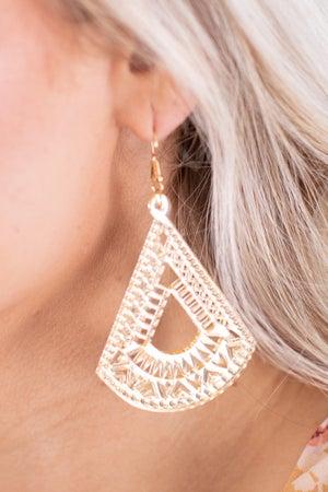 sku16804 | Acrylic Filigree Earrings