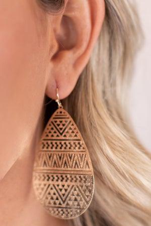 sku17261 | Filigree Teardrop Earrings