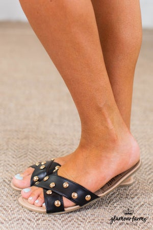 sku14761 | Showstopper Studded Sandals