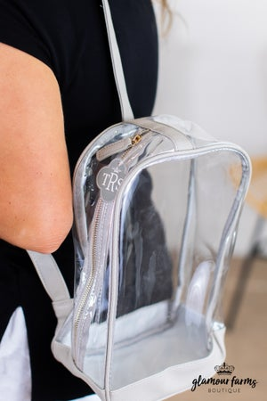 "sku14011 | Clear Sling Pack Bag - 12"""
