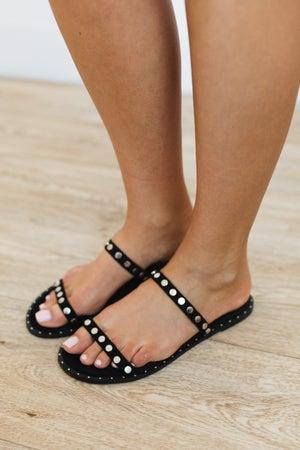 sku20646 | Camille Studded Slide Sandal