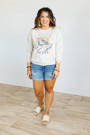 sku21077 | Rise Above Graphic Sweatshirt
