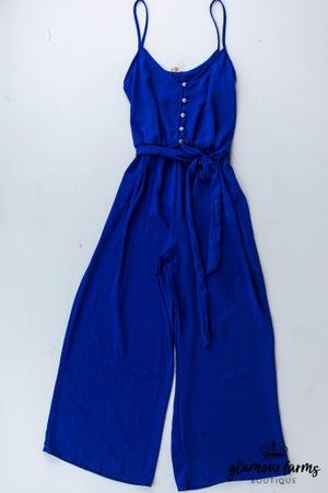 sku13143 | **Daily Deal** Cami Self Belt Jumpsuit