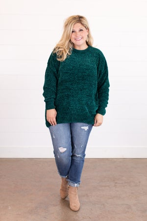 sku16329 | Chenille Tunic Sweater