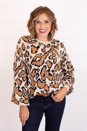 sku16155 | Animal Print Sweater
