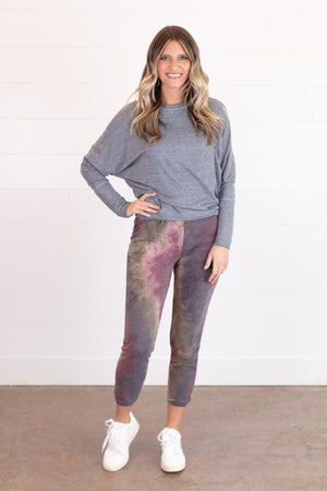 sku17307   Tie Dyed Joggers