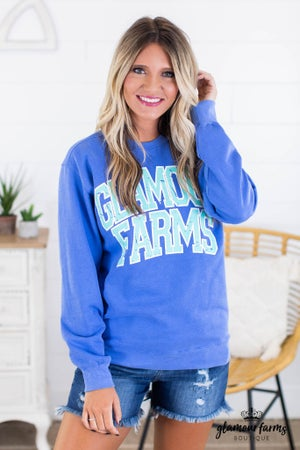 sku14718 | Glamour Farms Graphic Sweatshirt