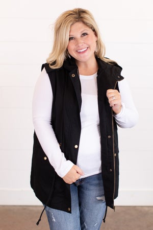 sku16319 | **Daily Deal** Hooded Utility Vest