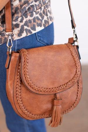 sku15833   Crossbody Saddle Bag