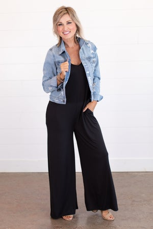 sku15401 | Cami Strap Jumpsuit