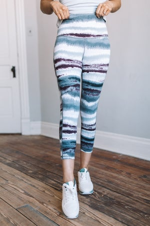 sku18810 | **Daily Deal** Zen Print Active Leggings