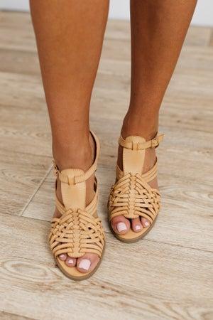 sku18864 | Gia Strappy Block Heel Sandal