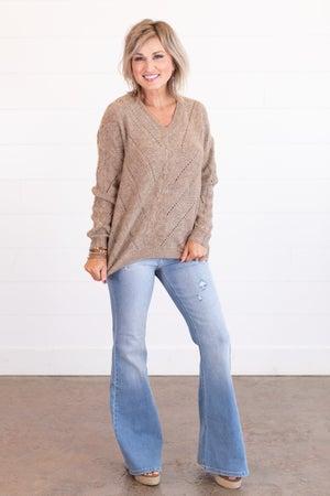 sku14783 | Open Knit Sweater