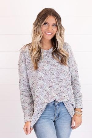 sku17501 | Confetti Knit Sweater