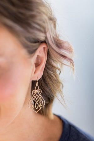 sku15303 | Filigree Dangle Earrings