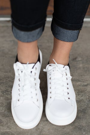 sku17921 | Points Platform Sneaker