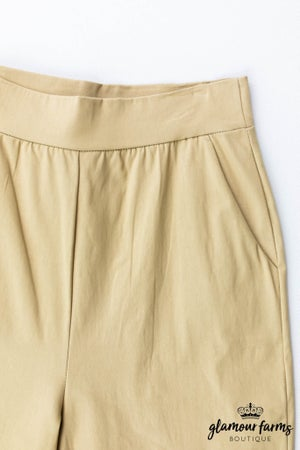 sku13147   **Daily Deal** Basic Cropped Pants