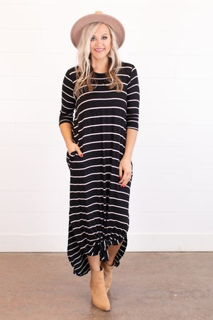 sku16153 | Striped Maxi Dress