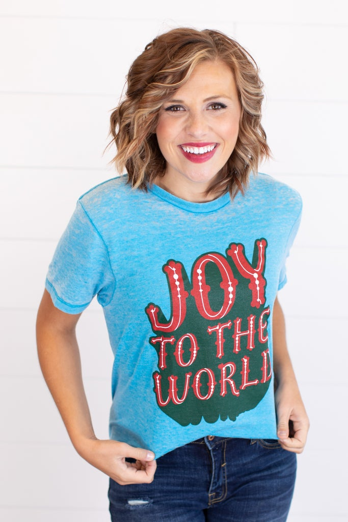 sku17815 | Joy To The World Graphic Tee
