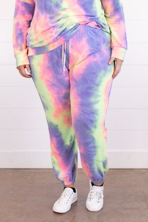 sku16920 | Tie Dyed Joggers