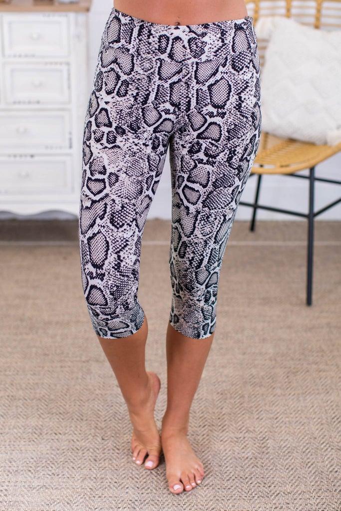 sku13757   **Daily Deal** Animal Print Active Leggings
