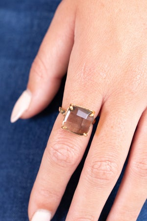 sku16121   Faceted Square Ring