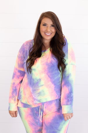 sku16450 | Tie Dyed Pullover