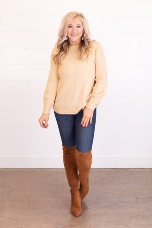 sku17559 | Ribbed Knit Raglan Sweater