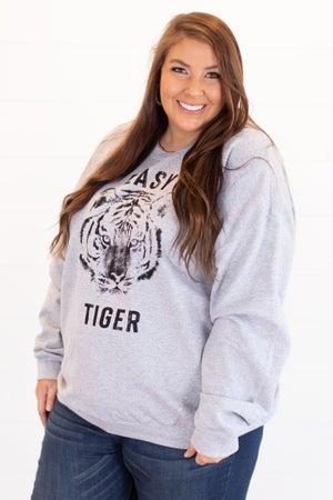 sku15698 | Easy Tiger Graphic Sweatshirt