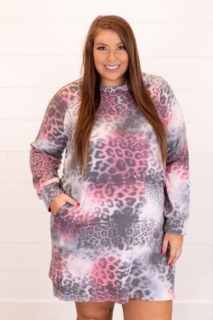 sku16412 | Animal Print Dress