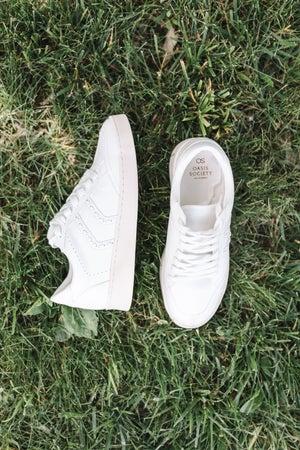 sku22035   Pastel Stitched Platform Sneaker