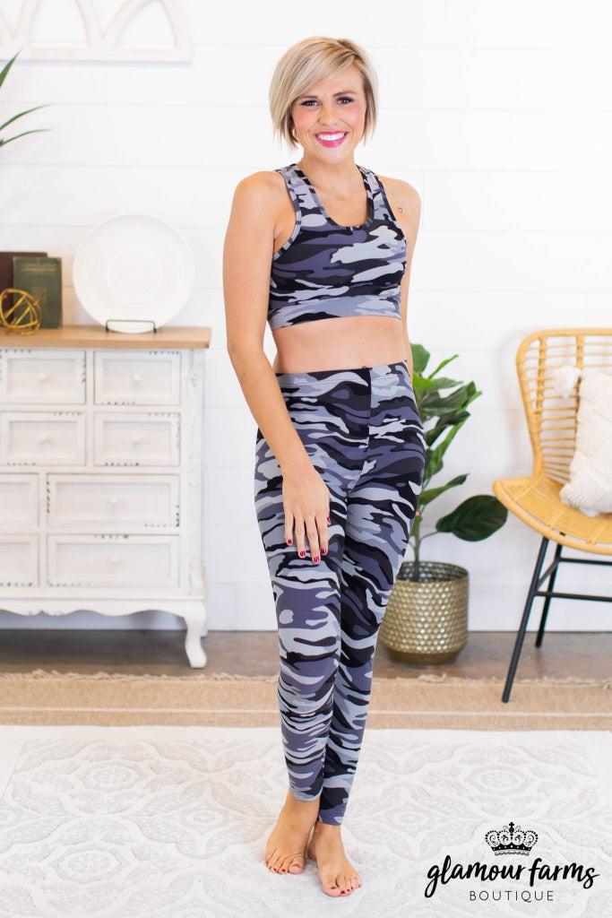 sku10713   **Daily Deal** 2-Piece Activewear Set