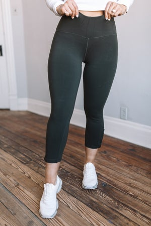 sku18808 | **Daily Deal** Eyelet Lace-Up Active Leggings