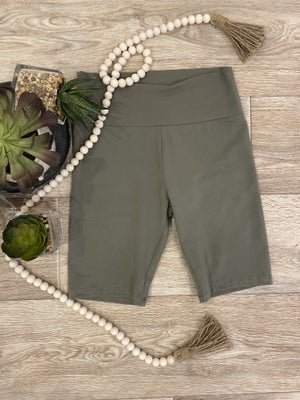 sku18764 | **Daily Deal** Wide Band Knit Active Shorts