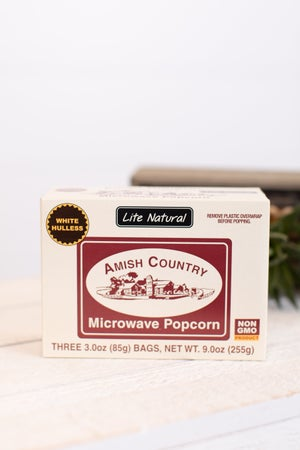 sku17993 | Microwavable Lite Natural Popcorn - 3 Pack