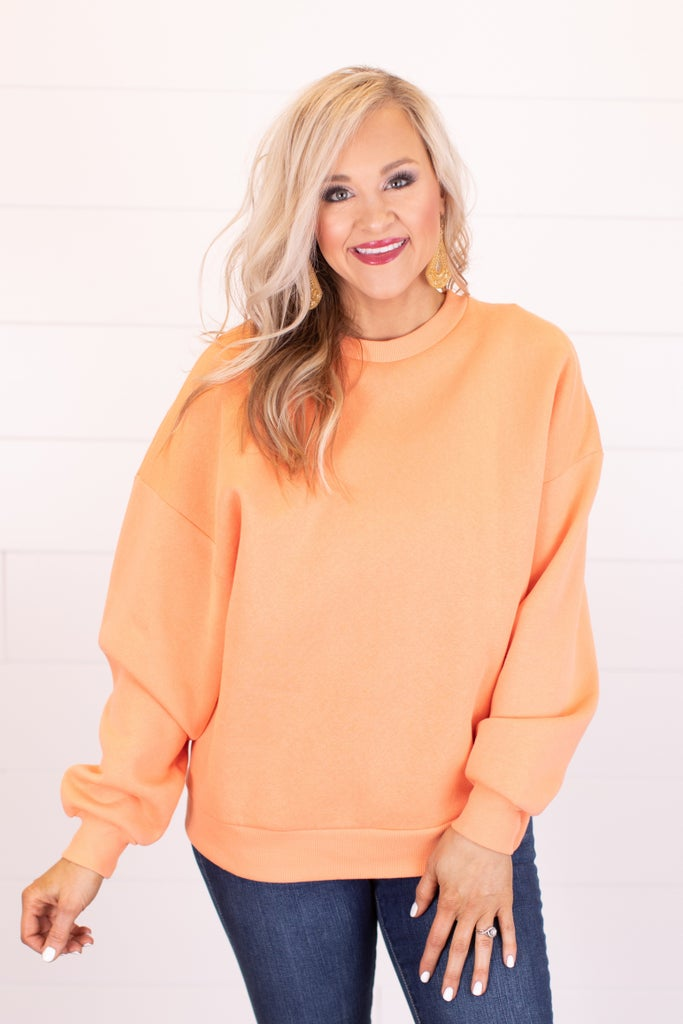 sku17834 | **Daily Deal** Oversized Sweatshirt
