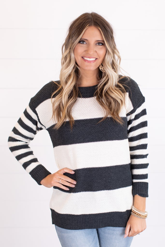 sku17859   **Daily Deal** Striped Sweater