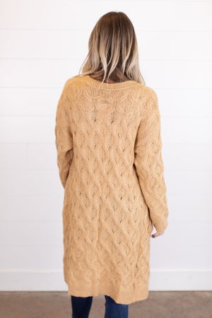 sku17375 | Cable Knit Cardigan