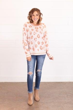 sku16891   Animal Print Sweater