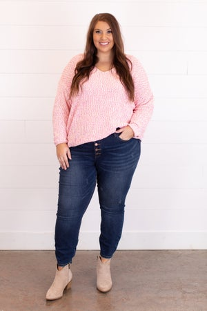 sku16894 | Flecked Knit Sweater