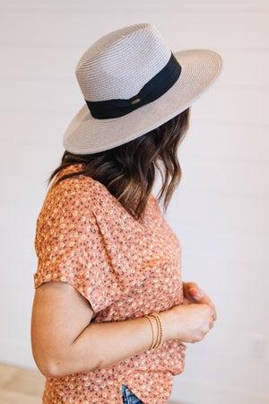 sku19876   Woven Panama Hat