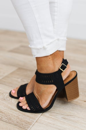 sku18860   Caris Block Heel Sandal