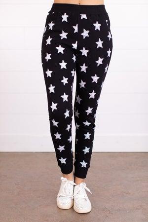 sku16577 | Star Print Jogger Sweatpants