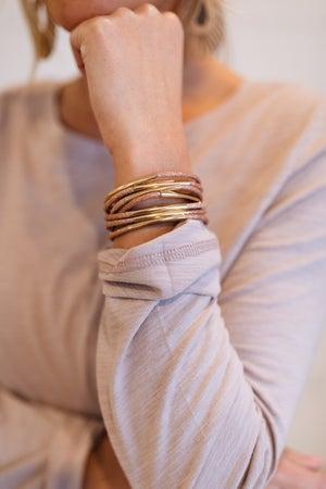 sku19640   Glitter Multi Strand Bracelet