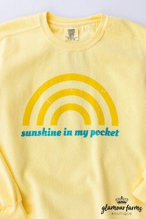 sku12986   Sunshine In My Pocket Sweatshirt