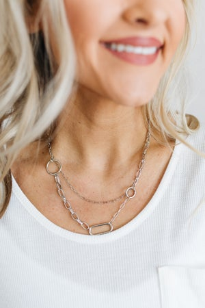 sku18592 | Layered Chain Link Necklace