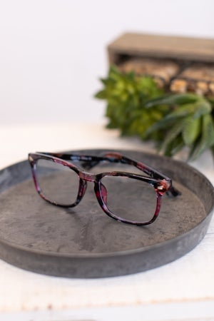 sku17682 | Rectangle Blue Light Filter Glasses