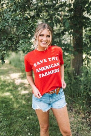 sku21767 | Save The American Farmers Graphic Tee