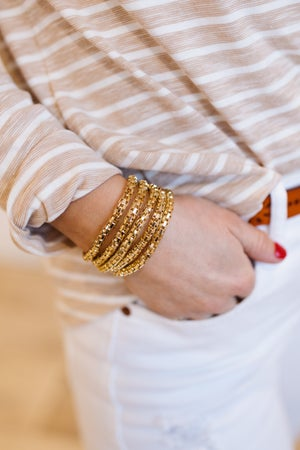 sku19033   5 Row Mesh Chain Bracelet