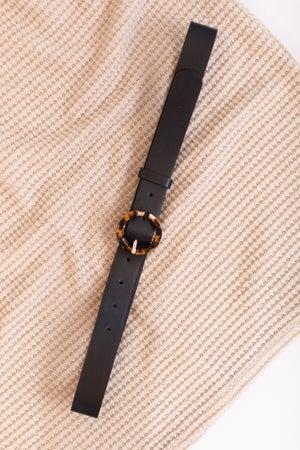sku16934 | Tortoise Shell Buckle Belt